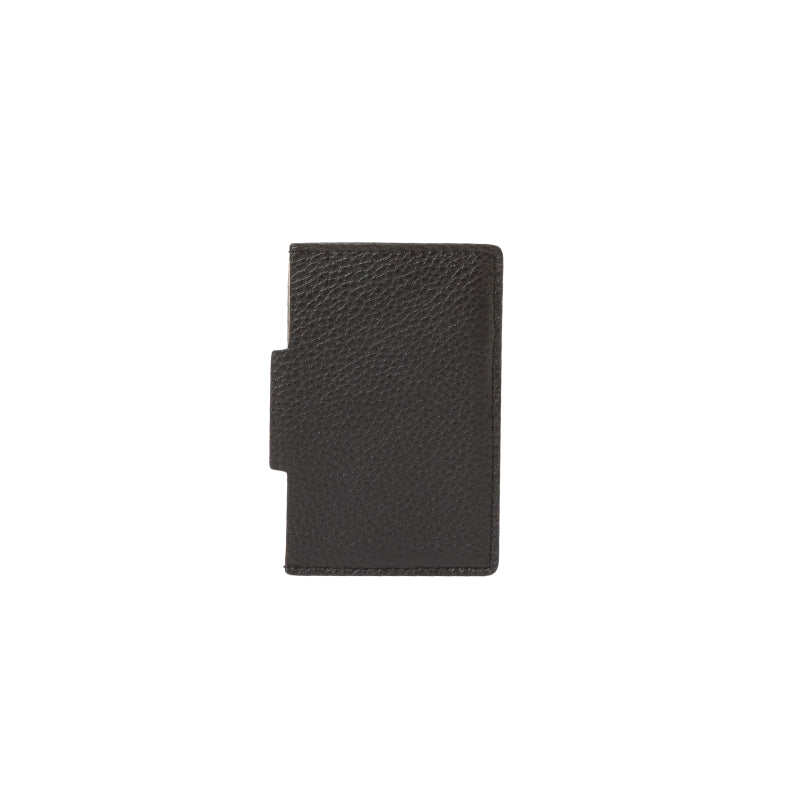 Johnny Leather Cardholder (Black) - Arlington Milne