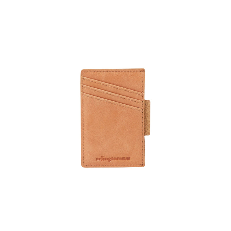 Johnny Leather Cardholder (Vintage Tan) - Arlington Milne