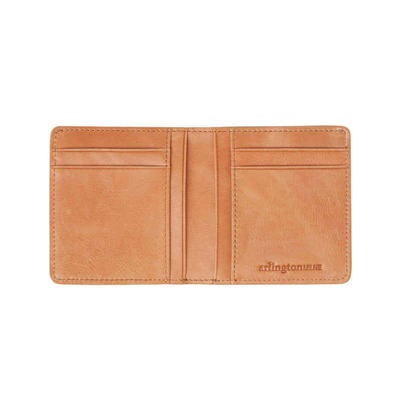 Patrick Leather Wallet (Vintage Tan) - Arlington Milne