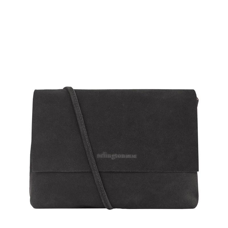 Chloe Leather Mini (Charcoal Suede) - Arlington Milne