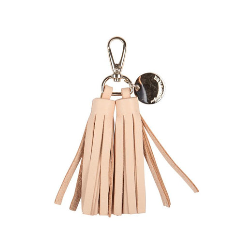 Double Leather Tassel (Natural)