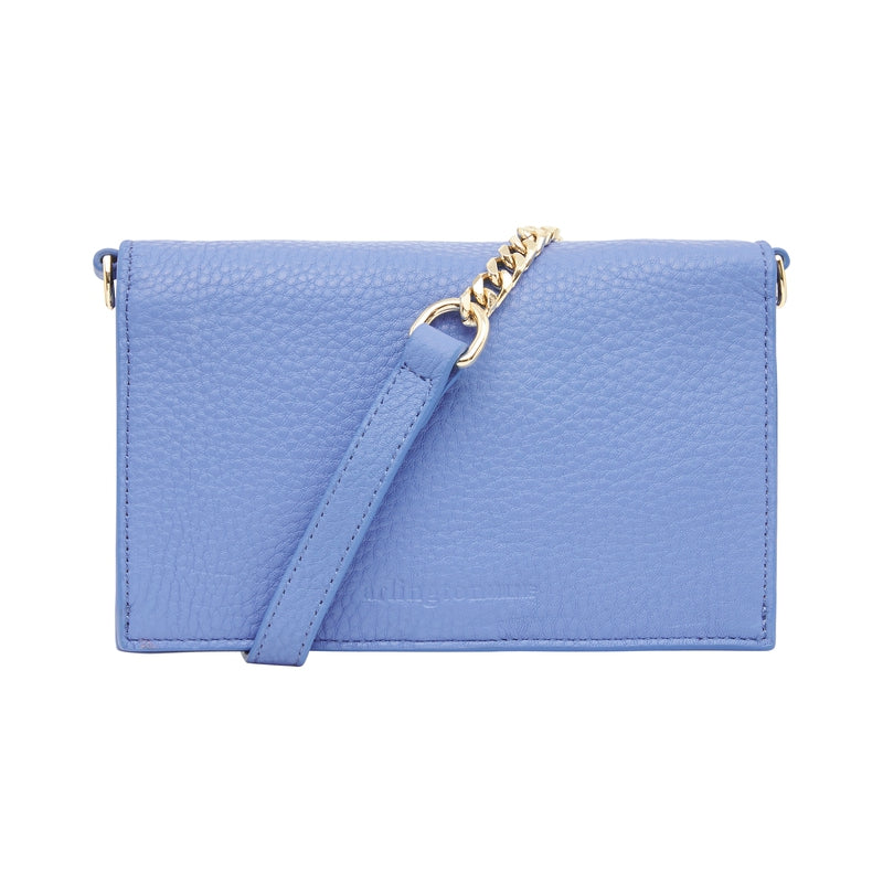 Jasmine Wallet - Cornflower Blue