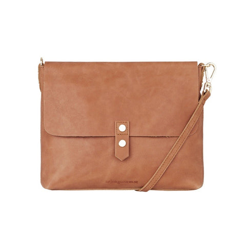 Paige Crossbody - Vintage Tan