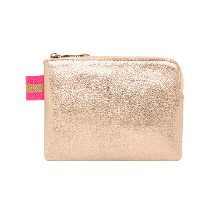 Paige Coin Purse - Rose Gold