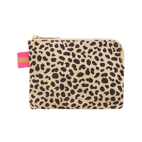 Paige Coin Purse - Spot Suede