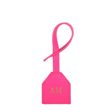 Bag Leather Tag (Pink) - Arlington Milne