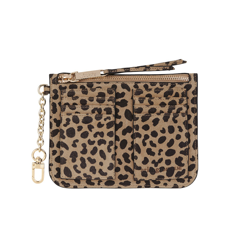 Coco Coin Purse - Spot Suede