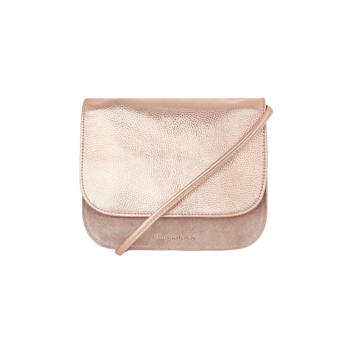 Anna Leather Crossbody Small (Rose Gold) - Arlington Milne