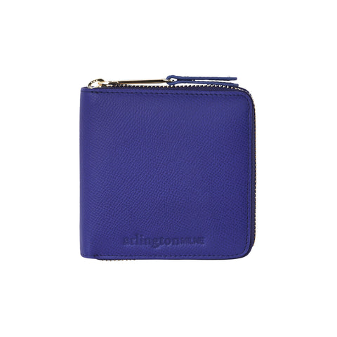Zoe Leather Wallet (Cobalt)