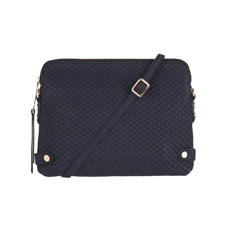 Olivia Wallet - Navy Scales