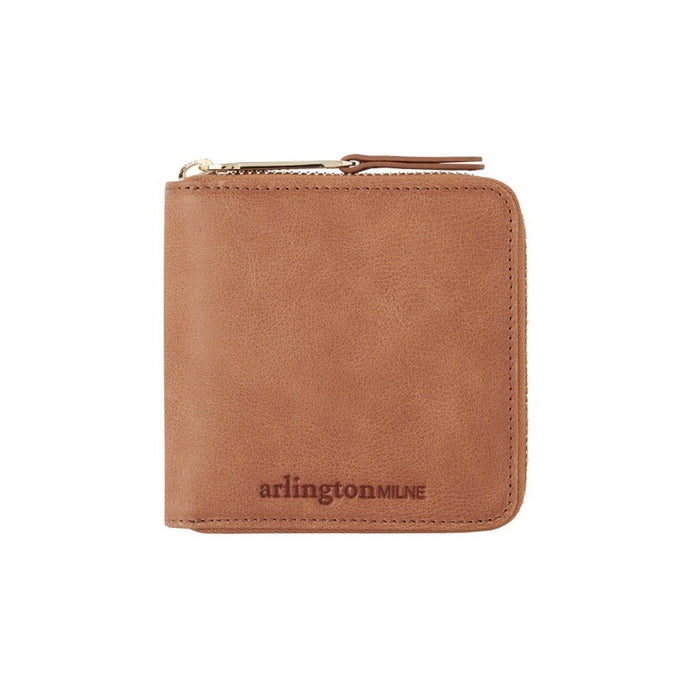 Zoe Leather Wallet (Vintage Tan) - Arlington Milne