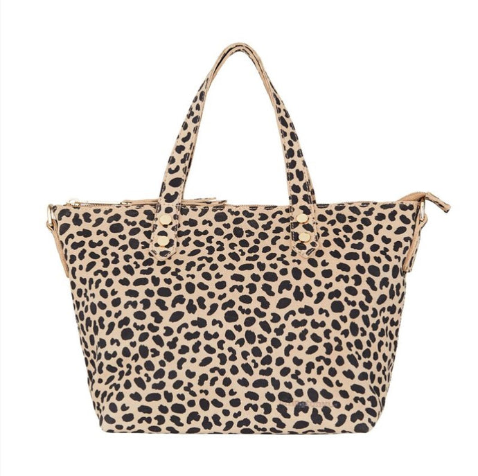 Paige Soft Tote Small - Spot Suede
