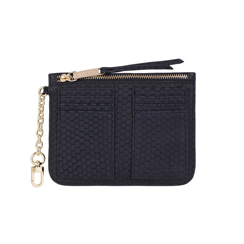 Coco Coin Purse - Navy Scales