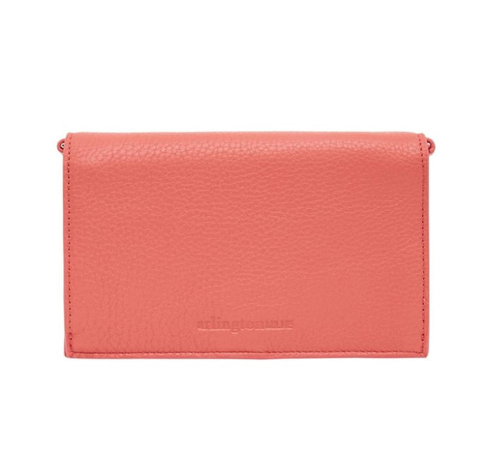 Jasmine Wallet - Dusty Coral