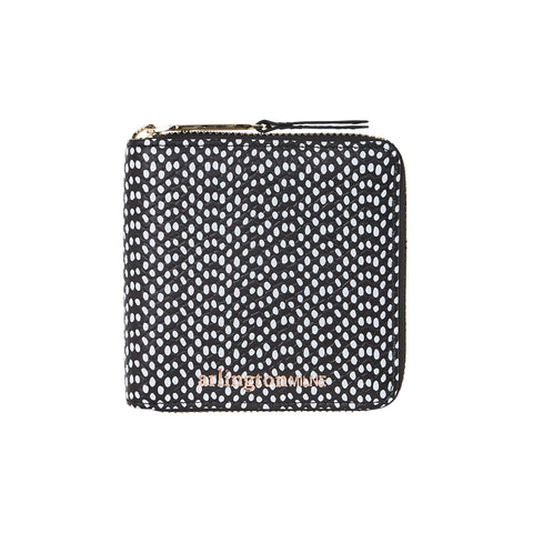 Zoe Leather Wallet (Spots)