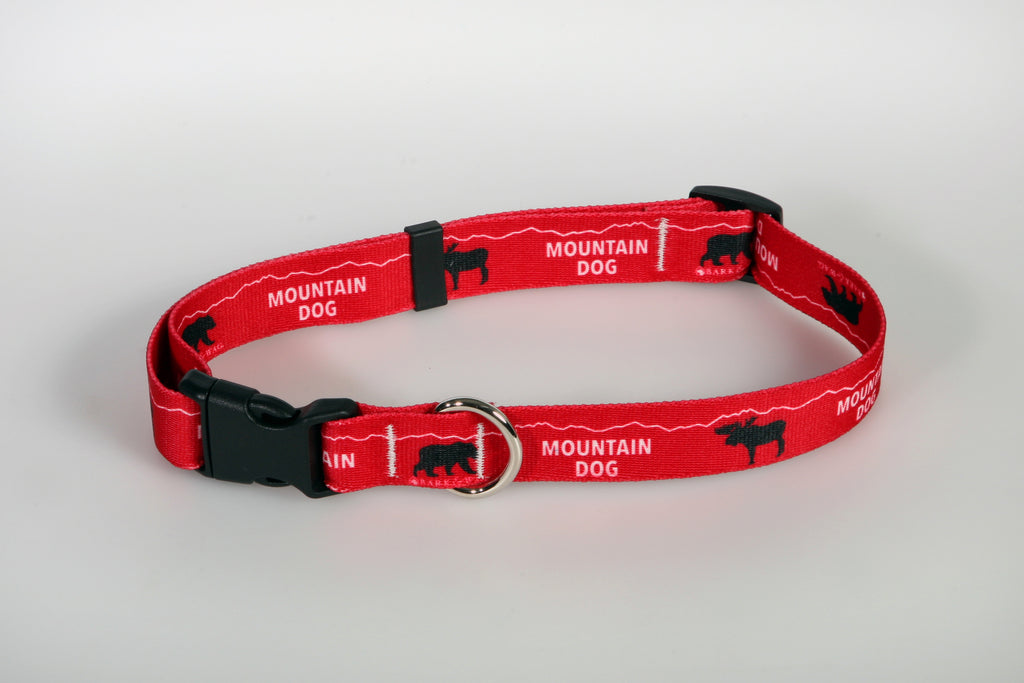 Bark & Wag Mountain Dog Bear & Moose Collar