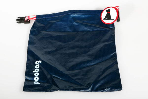 Bark & Wag Blue Reusable Poop Bag