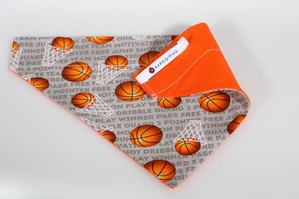 Bark & Wag Basketball Bandanna