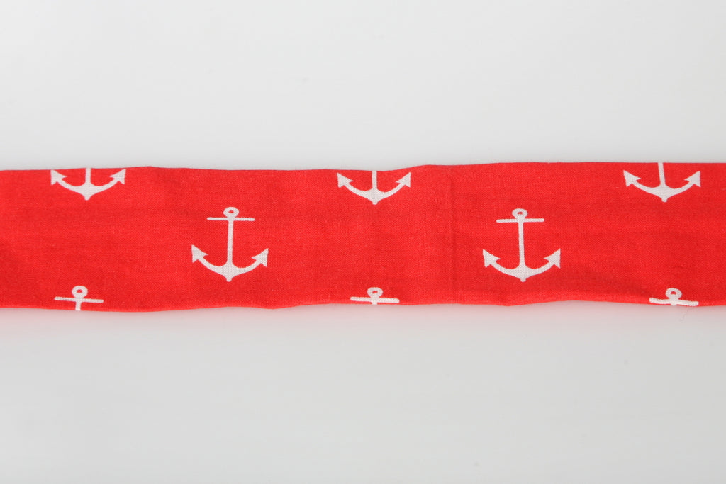 Bark & Wag Decorative Red Anchor Collar Cover