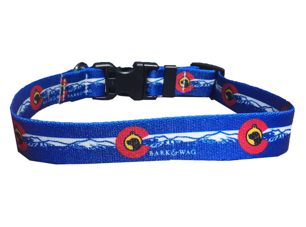 Colorado Bark & Wag Collar