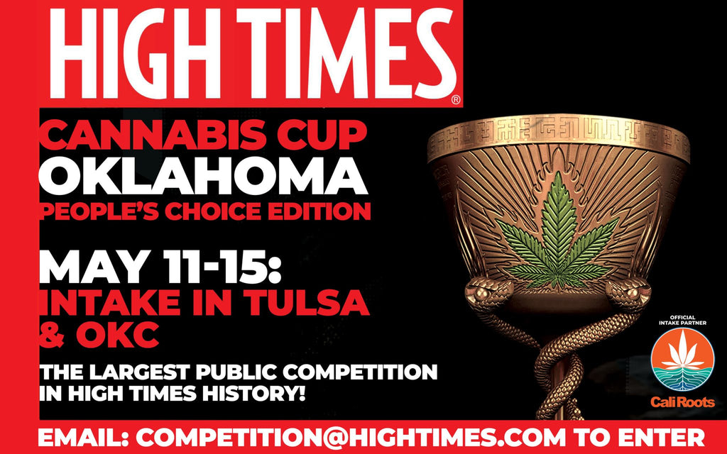 Oklahoma Cannabis Cup Judge Kits go on sale