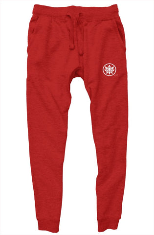 Canvas Red Joggers