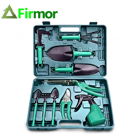 10-Piece Stainless Steel Garden Tool Set