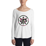 Floral Lotus Relaxed Long Sleeve for Ladies - Flower Children & Co.