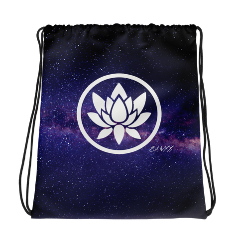 Hazy Purple Drawstring Bag - Flower Children & Co.
