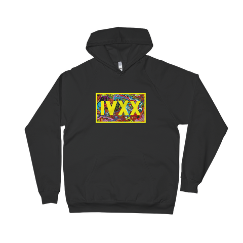 Trippy IVXX - Unisex Fleece Hoodie - Flower Children & Co.