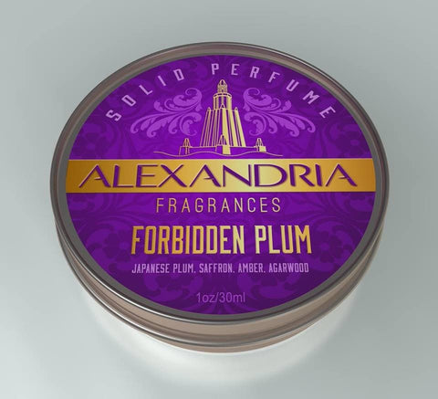 Forbidden Plum (Solid Fragrance)