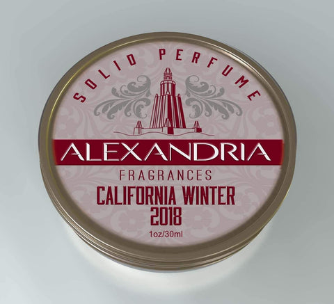 California Winter 2018 (Solid Fragrance)
