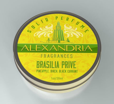 Brasilia Prive (Solid Fragrance)