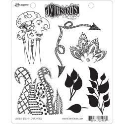 "Dyan Reaveley's Dylusions Cling Stamp Collections 8.5""X7"" Doodle Parts"