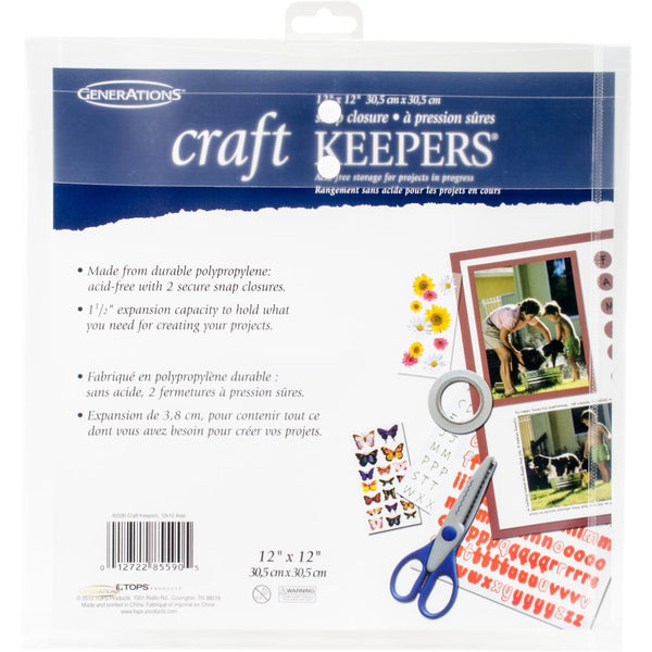 Craft Keepers Snap Closure Envelope