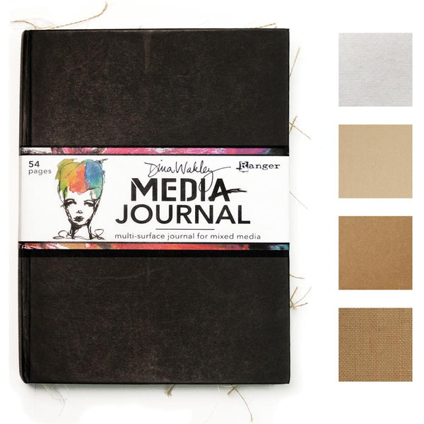 "Dina Wakley Media Journal 8""x 10"""