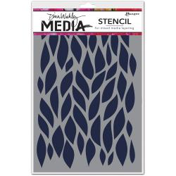 Dina Wakley Media Stencils - Big Leafy