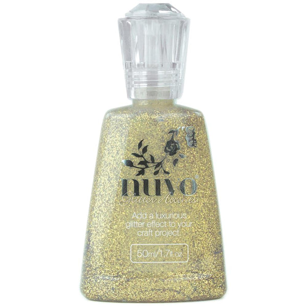 Nuvo - Glitter Accents - Aztec Gold