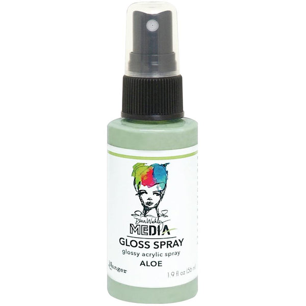 Dina Wakley Media Gloss Spray - Aloe