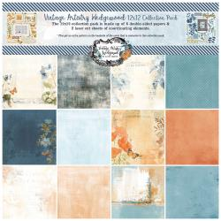 49 and Market Vintage Artistry Wedgewood 12×12 Collection Pack