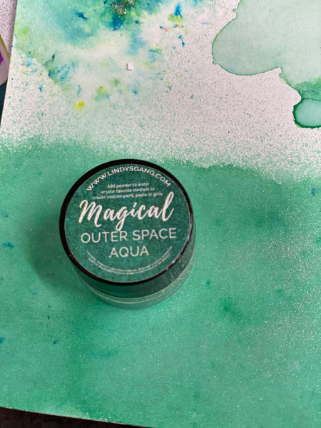 Lindy's Gang  Magical - Outer Space Aqua