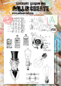 Aall & Create Rubber Stamps #387