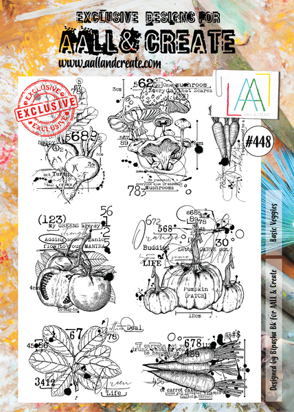 Aall & Create Rubber Stamps #448