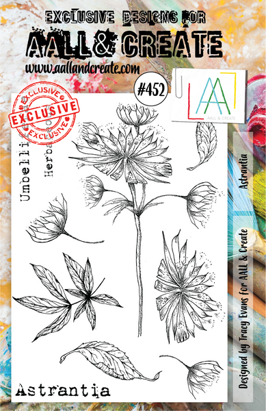 Aall & Create Rubber Stamps #452