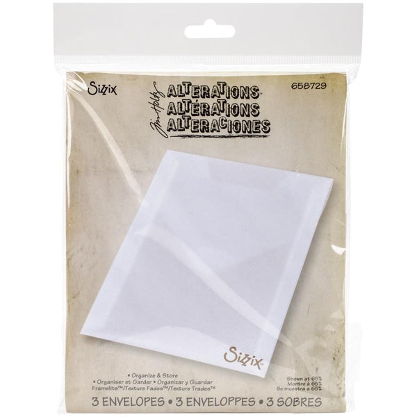 Sizzix Storage Envelopes