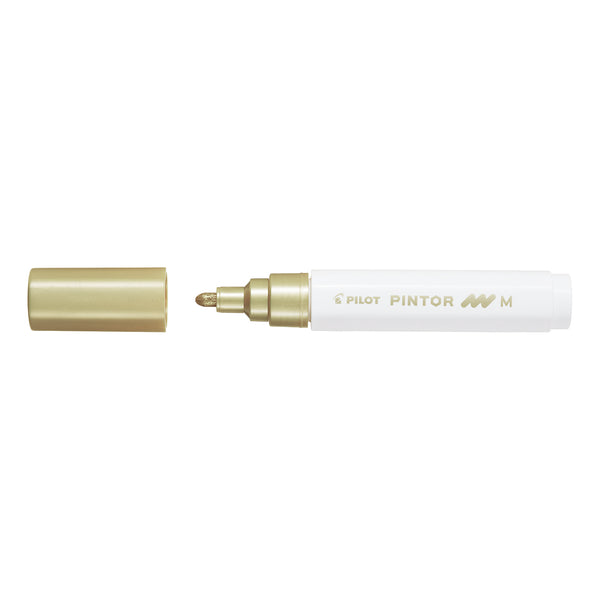 Pilot  Pintor Paint Marker Medium Tip - Gold