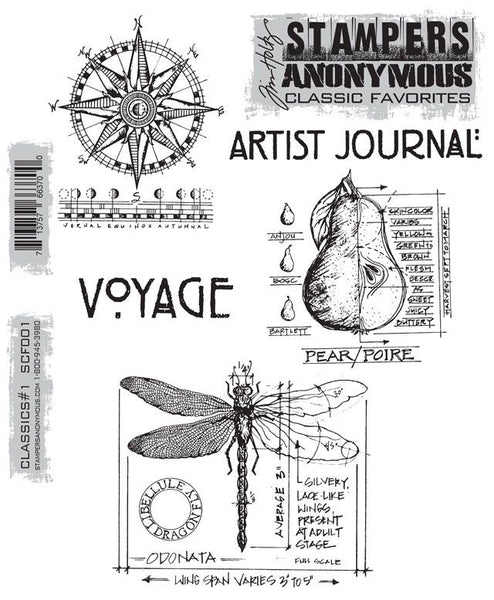 Stampers Anonymous Classics Cling Mount Stamps
