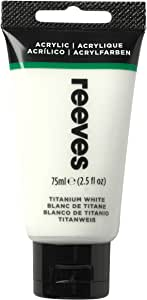 Reeves Titanium White 75ml