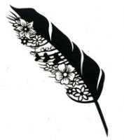 Scrap FX Blooming Feather Silhouette