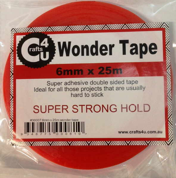 Crafts 4 U Wonder Tape  - 6mm